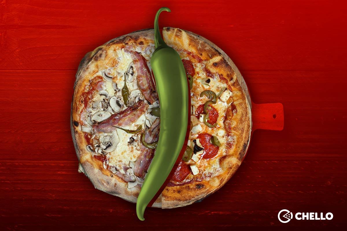 Neki to vole ljuto! Kojih top 5 Chello ljutih pizza obavezno morate probati?